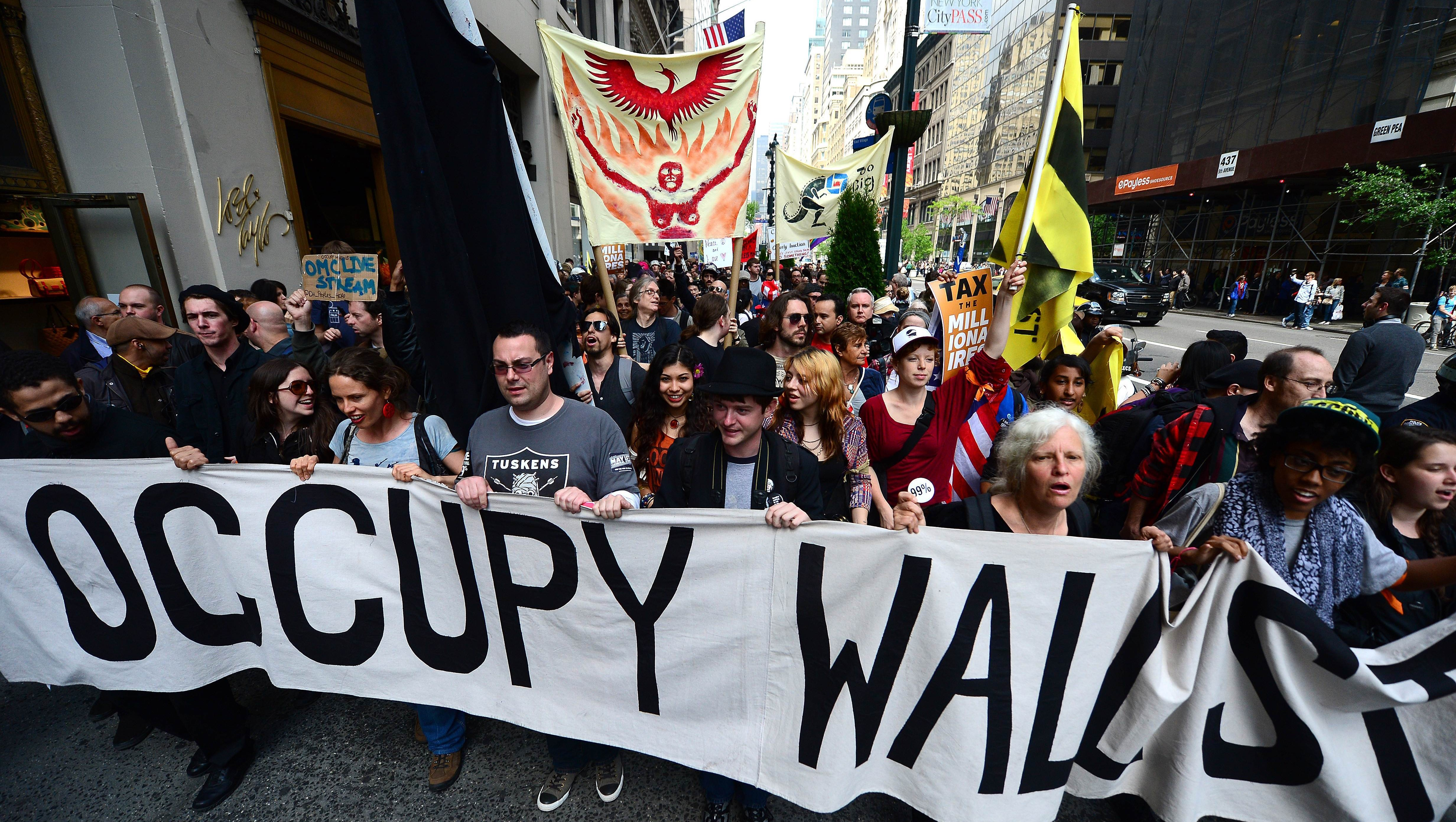 Protest for Socialism - Occupy Wall Sytreet